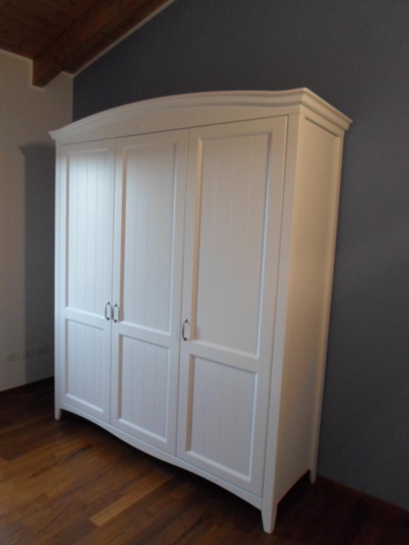 Armadio Tre Ante Bianco - Arte Stile Lia